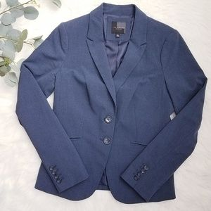 THE LIMITED Collection Suiting Navy Blue Blazer 6